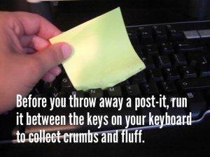 postit keyboard