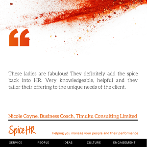 These ladies are fabulous!  Very knowledgeale, helpful and they tailor their offering to the unique needs of the client.  Nicole Coyne, Business Coach, Timuku Consulting Ltd